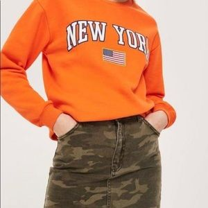 Topshop New York Crewneck